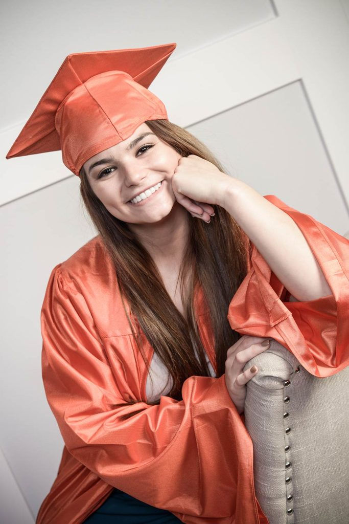 High School Senior Graduation Photography